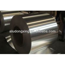 Aluminium transition strip with round edge